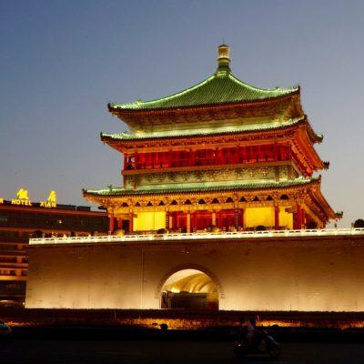 Bell Tower von Xian