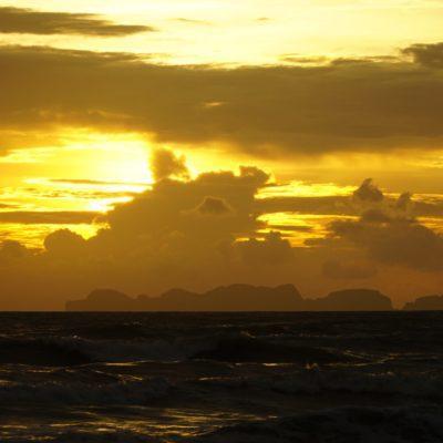 Das mal ein Sonnenuntergang