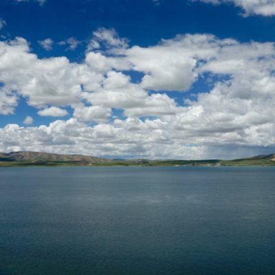 Landschaft mit einem super tollen und großen See