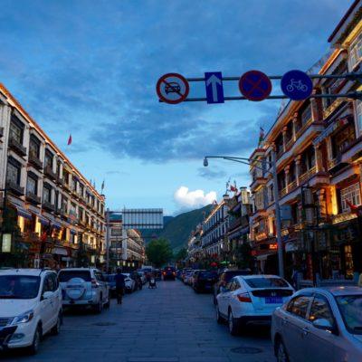 Lhasa Altstadt