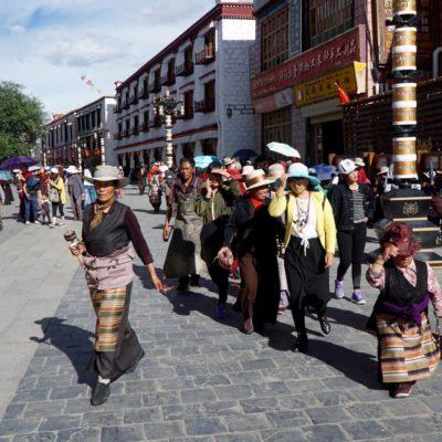 Die Pilger auf der Barchor Street
