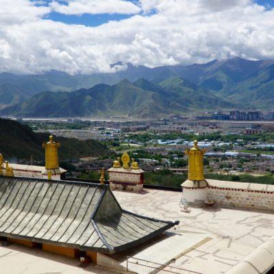 Aussicht vom Drepung Kloster