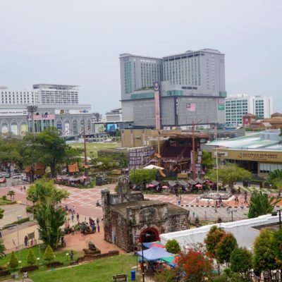 Melaka downtown