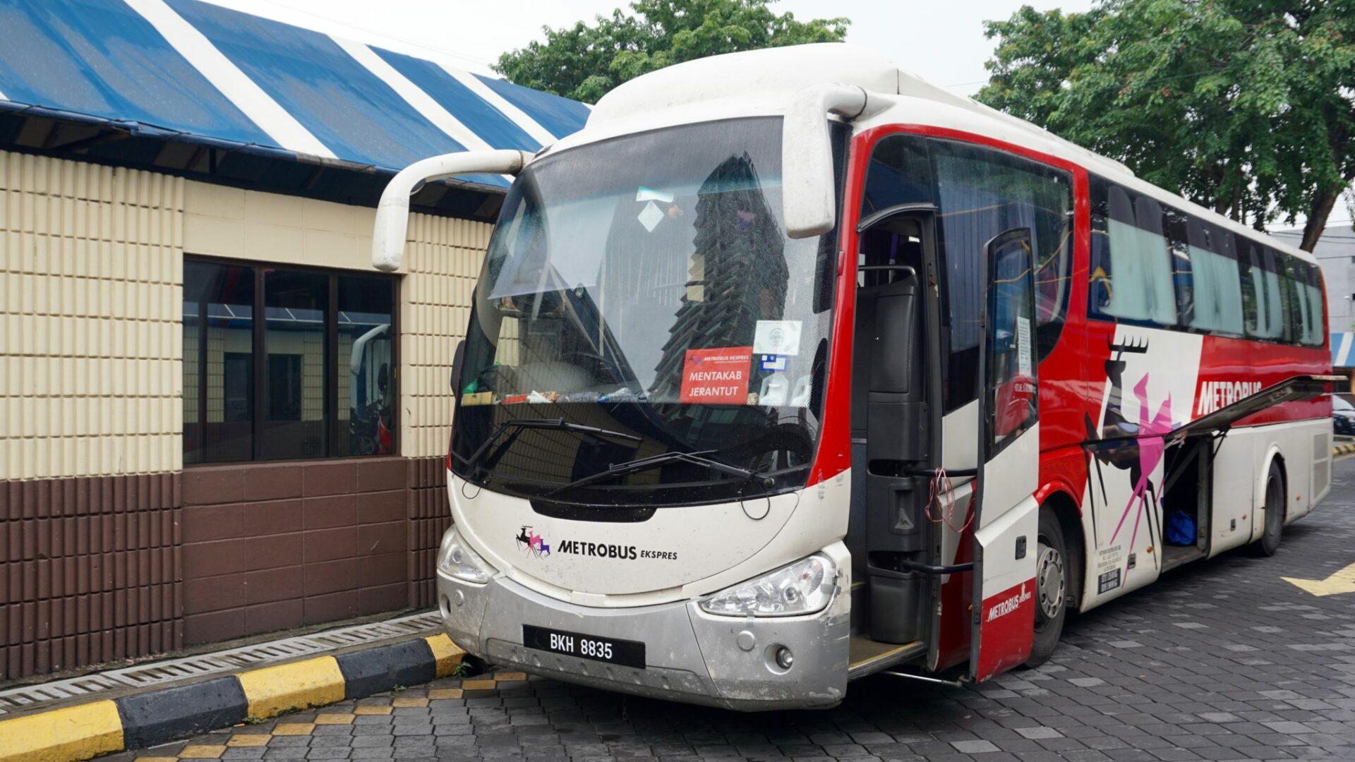 Unser Bus von Kuala Lumpur