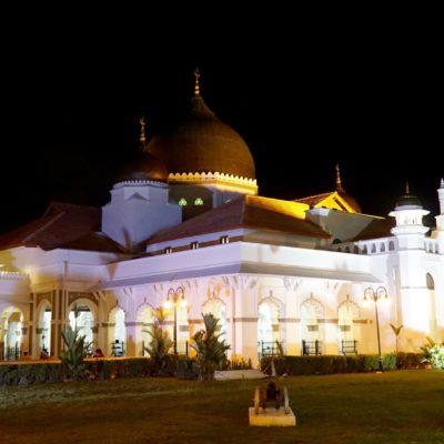Moschee am Abend