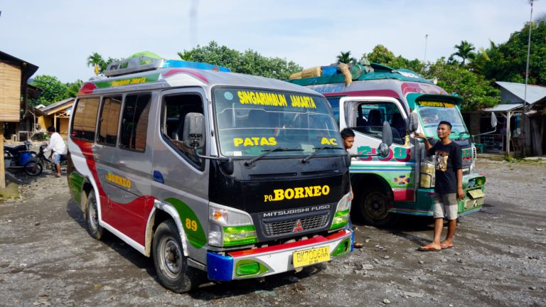 Reisetag von Bukit Lawang nach Berastagi