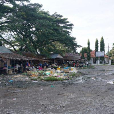Müllplatz Busterminal
