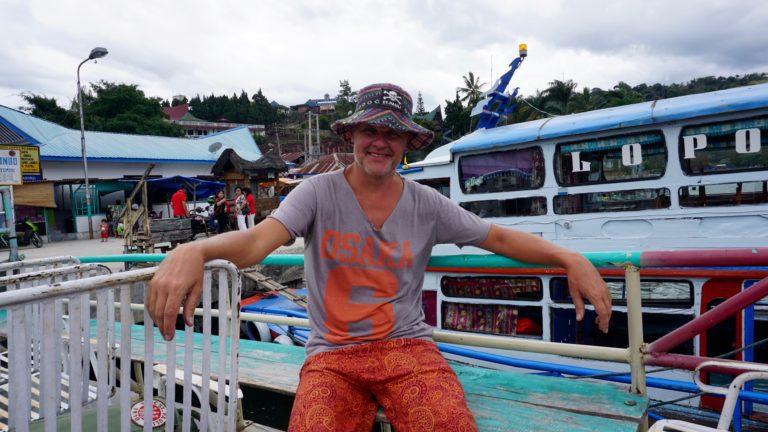 Reisetag von Berastagi nach Tuk Tuk ( Insel Samosir im Toba See )