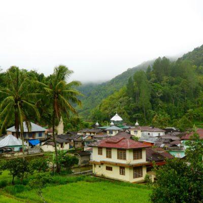 Dorf bei der Raflesia