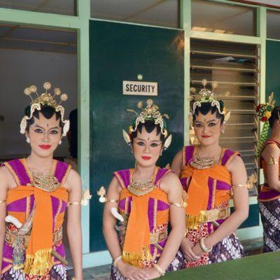Tanzvorstellung im Sultanspalast