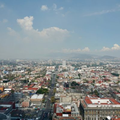 Ausblick vom Torre Latino Americano