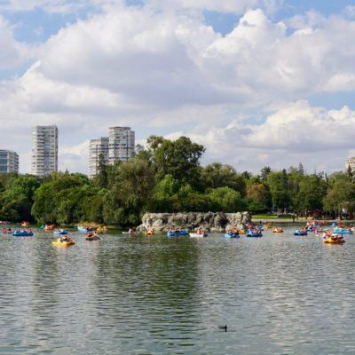 Vergnügungspark in Chapultepec