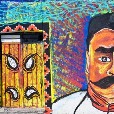 Graffiti in Cholula
