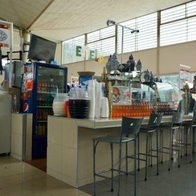 Unsere Halle zur Nahrungsaufnahme ( Frühstück )