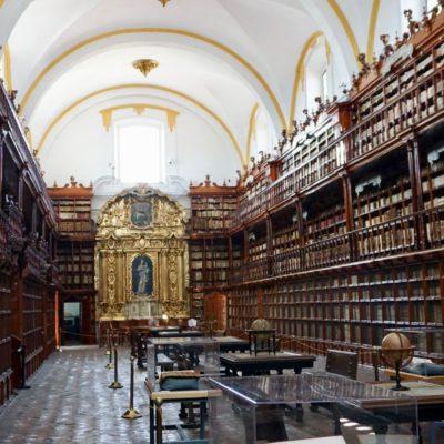 Die älteste Bibliothek auf dem amerikanischen Kontinent