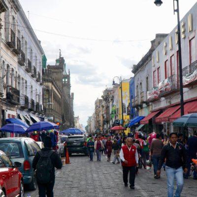 Puebla Altstadt.