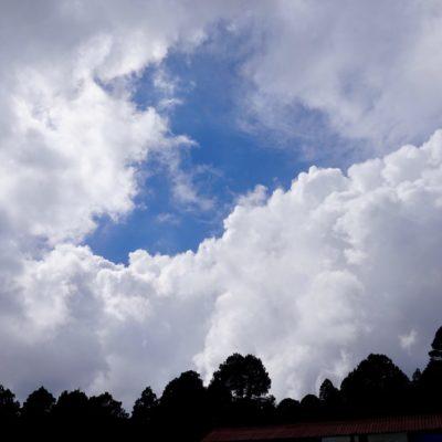 Ein toller Himmel. Gibt es auch in Deutschland ? Nö ;-)