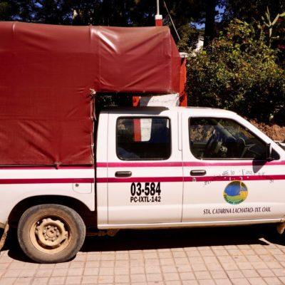 Unser Camionete von Ixtlan nach Lachatao