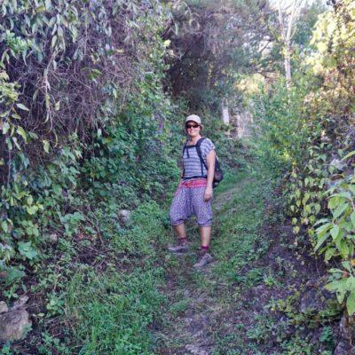 Der Weg zu unserer Cabaña