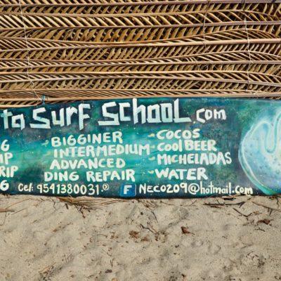 Die Surfschule unseres Vertrauens.