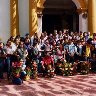 """Feierlichkeiten zur """" Virgen der Guadeloupe """""""
