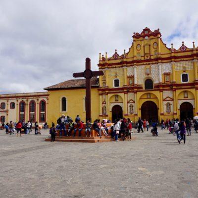 Eine der vielen Kirchen in San Cristobal