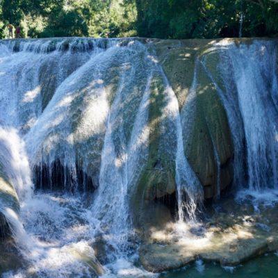 Die Roberto Barios Wasser Kaskaden