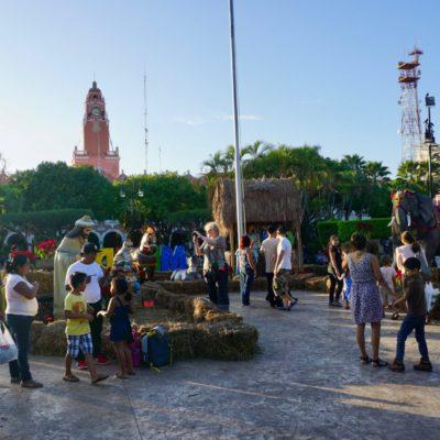 Der Zocalo von Merida