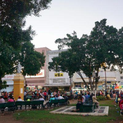 Zocalo in Merida