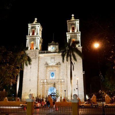 Die Kirche am Zocalo von Valladolid