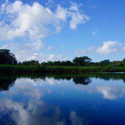 Super toller Wasserweg nach Lamanai
