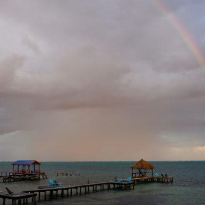 Regenbogen in der Karibik