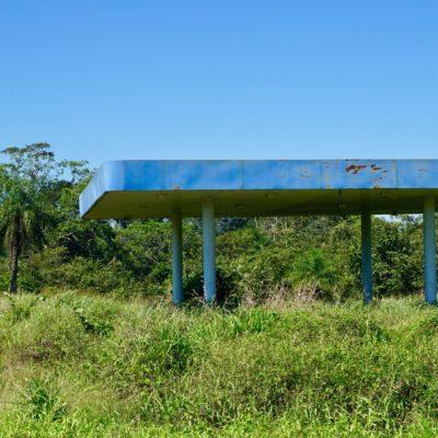 Die letzte Tankstelle vor der Grenze