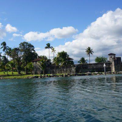 Eine Festung auf em Weg nach Livingston