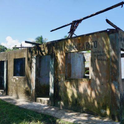 Hurricane Opfer. Wiederaufbau mangels Geld schwierig