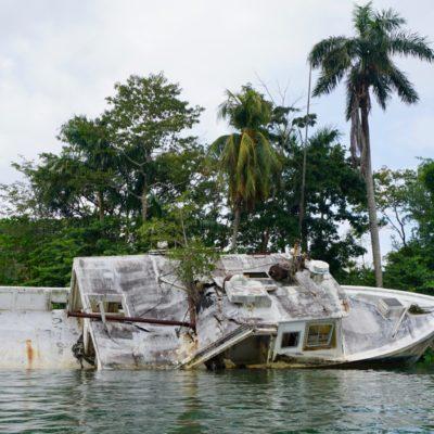 Überbleibsel vom Hurricane