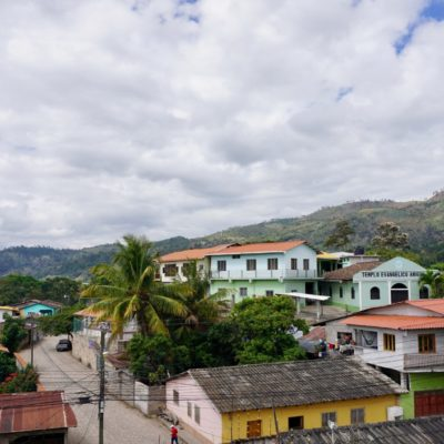 Copán Ruinas Stadt