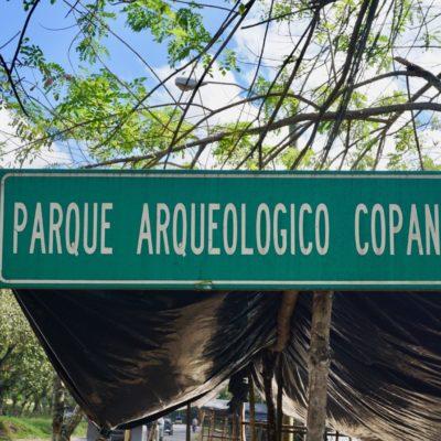 Willkommen in Copán