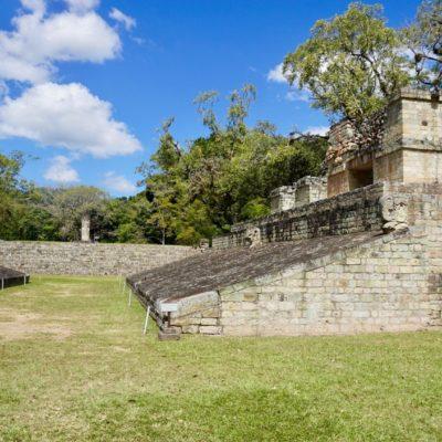 In den Ruinen von Copán