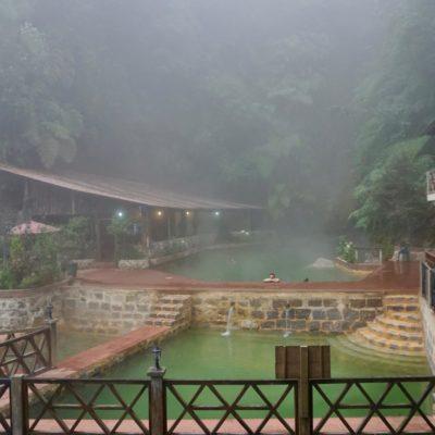 Wetter war Mist da oben aber schön warmes Wasser gab es