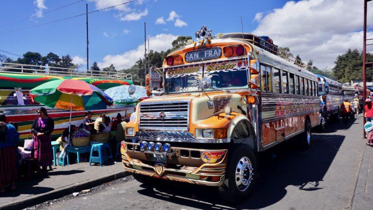 Reisetag von Quetzaltenango via Panajachel nach Jaibalito