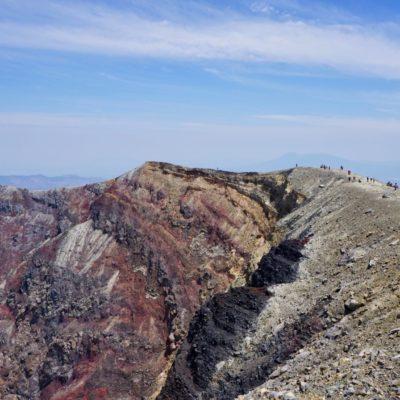 Der Santa Ana hat drei Krater