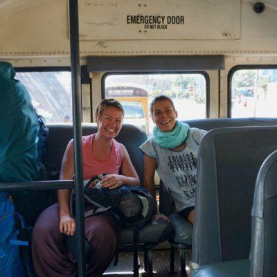 Die zweite Bustour war dann deutlich entspannter .
