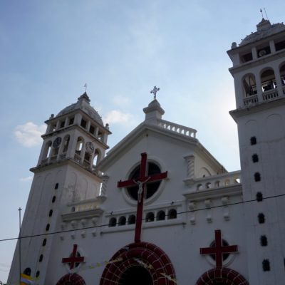 Die Kirche in Juayúa