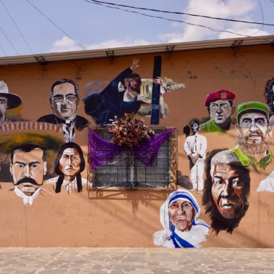 Wandbild in Ataco