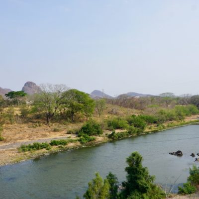 Grenzfluss El Salvador Honduras