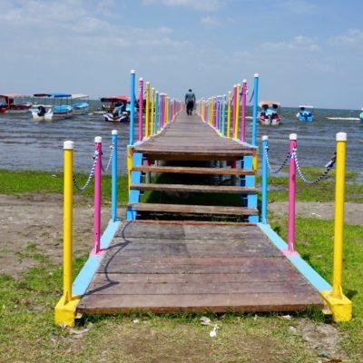 Bootssteg am Nicaragua See
