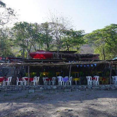 Eines der vielen Restaurants