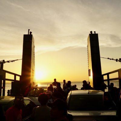 Ankunft auf Ometepe bei Dämmerung