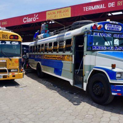 Unser Bus nach Costa Rica